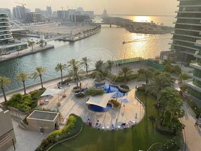 3 Bedroom Flat for Sale in Al Raha Beach, Abu Dhabi - Lovely  Corner Unit Sunset Views High Floor Vacant