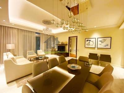 3 Bedroom Flat for Rent in Downtown Dubai, Dubai - Fully Furnished | 3 Bedroom | Burj Khalifa View