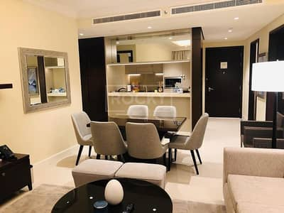 3 Bedroom Flat for Rent in Downtown Dubai, Dubai - Sky Collection | Fully Furnished |  Burj Khalifa View