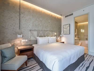 1 Bedroom Hotel Apartment for Rent in Downtown Dubai, Dubai - Serviced | High floor | Luxury finishing