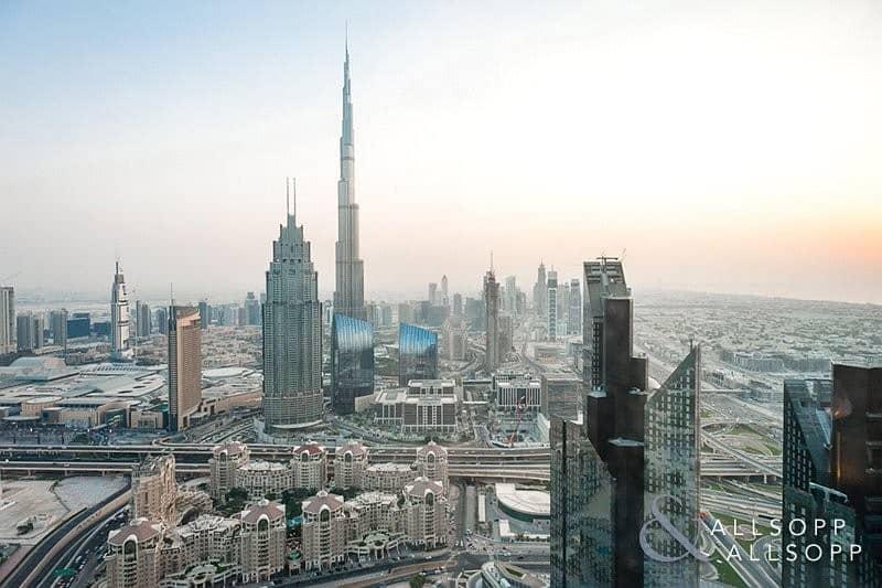 Two Bed | High Floor | Burj Khalifa View