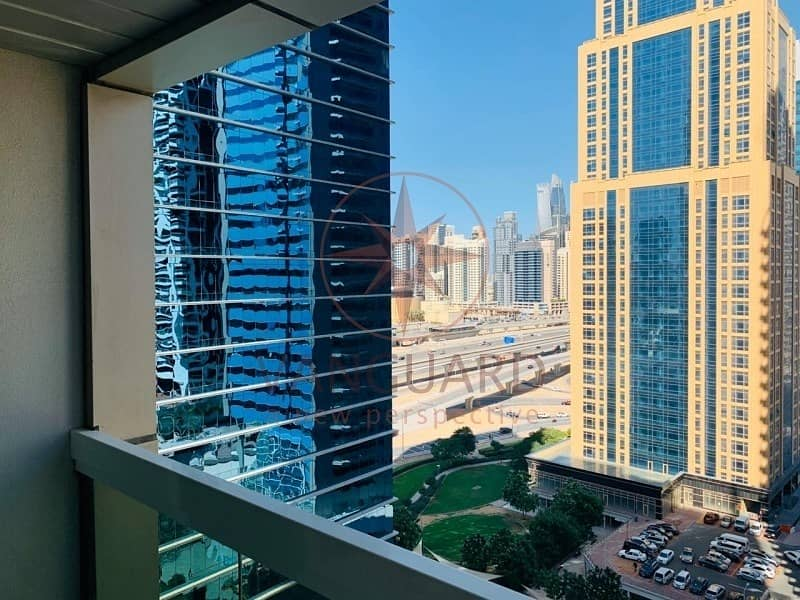 15 2 Bed Plus Maid room with Full Sheikh Zayed View