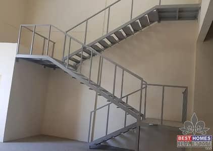 Warehouse for Rent in New Industrial City, Ajman - Size: 4,200 sq ft | Warehouse w/ Mezzanine | New Saniaya, Ajman