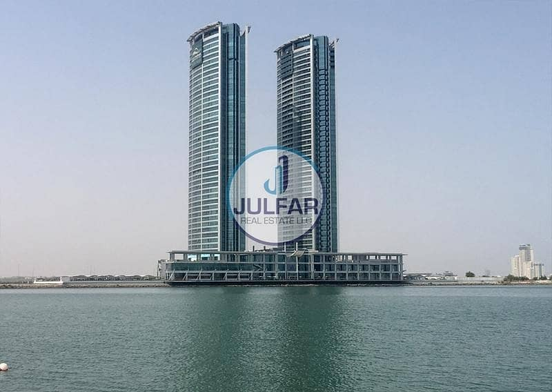 Mountain View Studio Apartment for SALE in Julphar Tower
