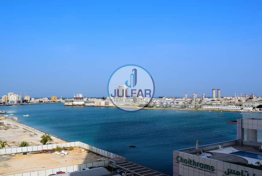 Lower Floor Sea View Furnished Studio | FOR RENT