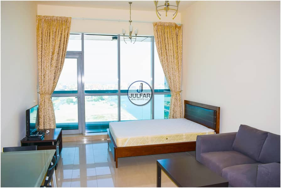 2 Lower Floor Sea View Furnished Studio | FOR RENT