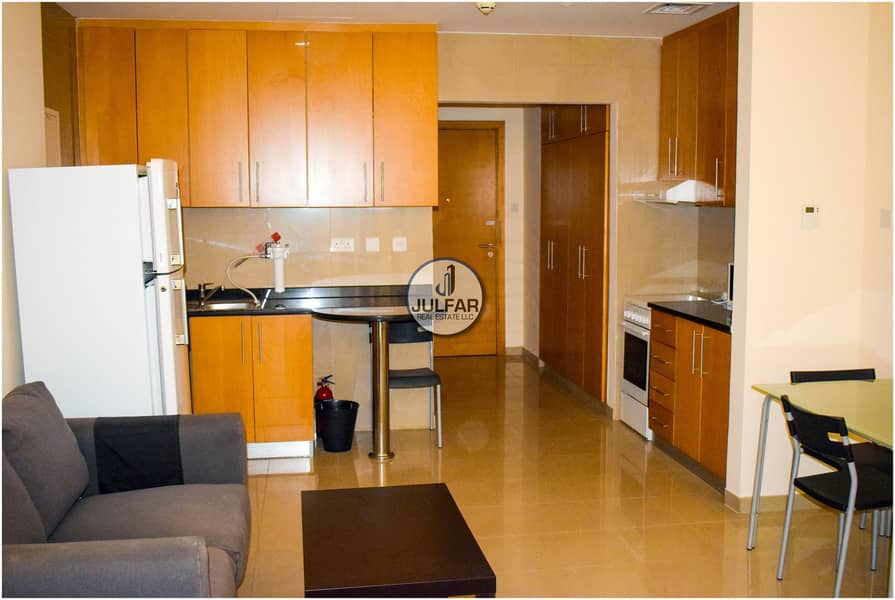 13 Lower Floor Sea View Furnished Studio | FOR RENT