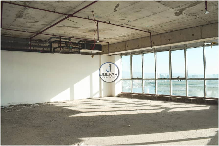10 2 Shell & Core Offices FOR RENT Julphar Tower RAK.