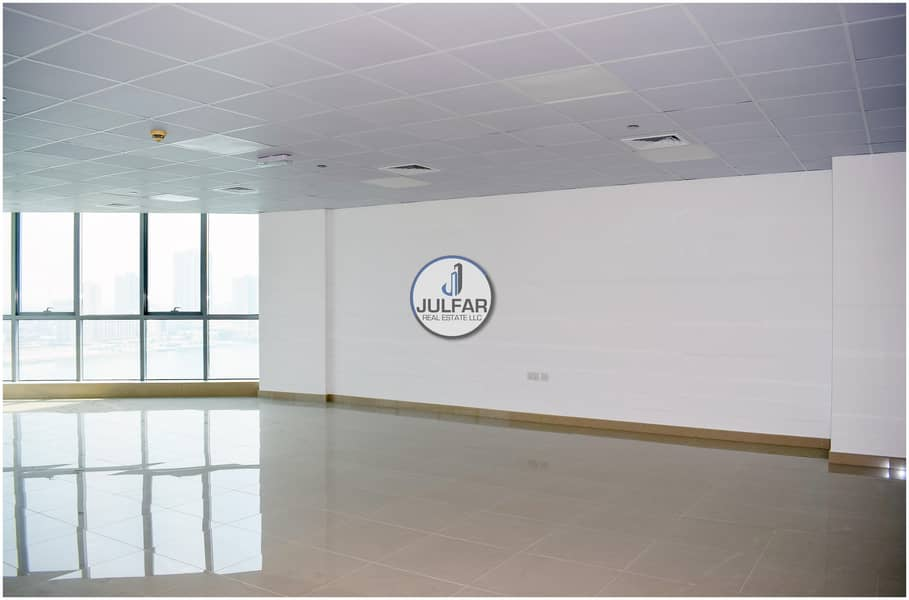 2 Unfurnished - Sea View Office -Julphar Towers- RAK