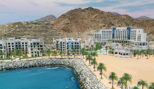 2 Bedroom Apartment for Sale in Address Fujairah Beach Resort, Fujairah - Luxury Water Front Apartment | Pay 160