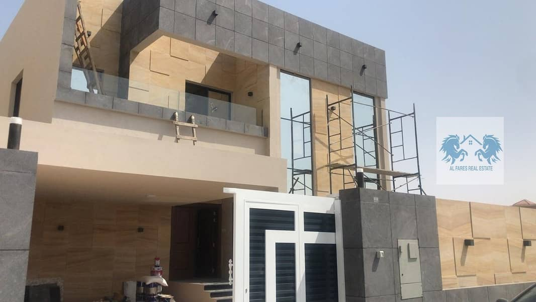 modern design villa suitable space close to all services for sale in Al Muwaihat1