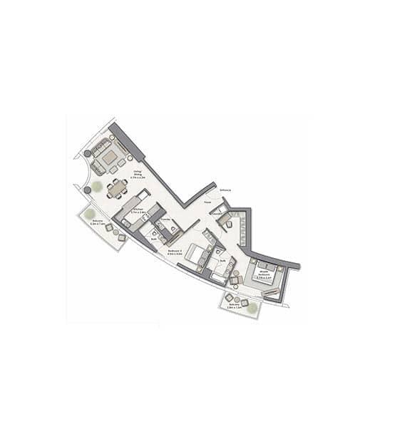 10 2 Bed | Low Floor | Handover April 2021