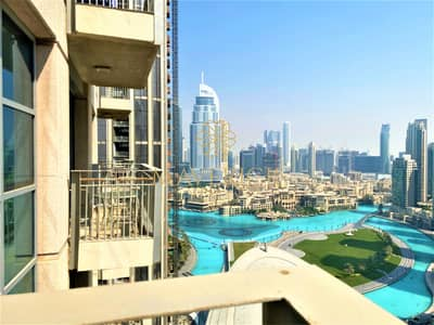 2 Bedroom Flat for Rent in Downtown Dubai, Dubai - Amazing 2BR | Fountain View+High Floor | Downtown