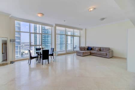3 Bedroom Flat for Rent in Dubai Marina, Dubai - Amazing panoramic view / Spacious 3 BR apartment / 4-5 Cheques! (Negotiable)