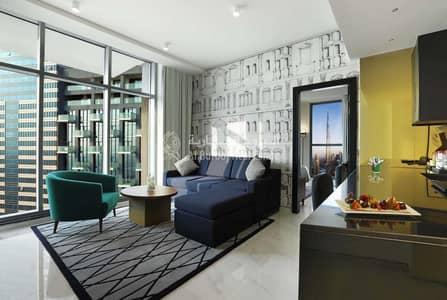 فلیٹ 1 غرفة نوم للايجار في الخليج التجاري، دبي - All Bills/Utilities included| Furnished 1BHK in 5 Star hotel apt