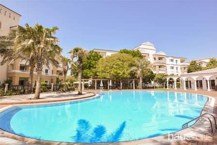 فلیٹ 2 غرفة نوم للايجار في جرين كوميونيتي، دبي - Available now | Park view | Close to pool