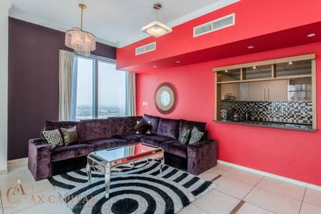 3 Bedroom Flat for Rent in Downtown Dubai, Dubai - Burj Khalifa View | Fully Furnished | Sea View