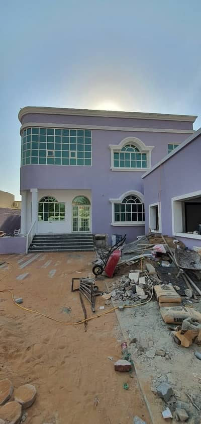 Hot Deal 5-Bedroom Villa just 70k with Ac ,5 master rooms + maid room for rent in Al Rawda Ajman