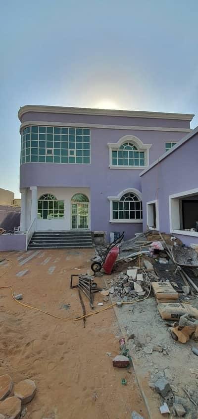 Hot Deal 5-Bedroom Villa just 70k with Ac ,5 master rooms + maid room for rent in Al Rawda Ajman