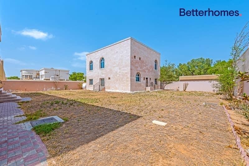 27 Large Plot 20000 sq ft /Vacant Villa/GCC only