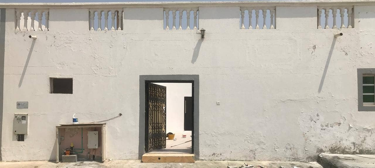A House for rent with a special area in Al Ghafia , Sharjah