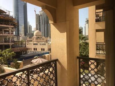 1 Bedroom Flat for Rent in Old Town, Dubai - Dynamic 1 BR | Great Condition | Unfurnished