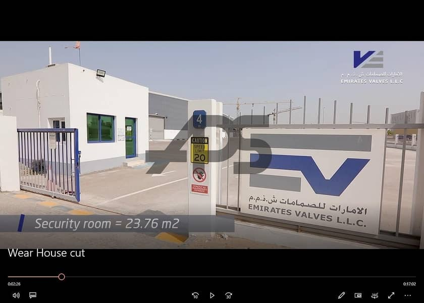 Factory with Complete Set Up For Sale in Mussafah ICAD for Aed 30 Million