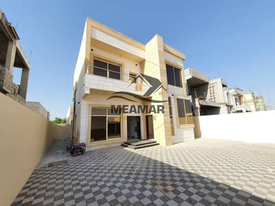 3 Bedroom Villa for Sale in Al Helio, Ajman - CHANCE. . brand new villa with excellent finish freehold for all nationalities direct on the main road.