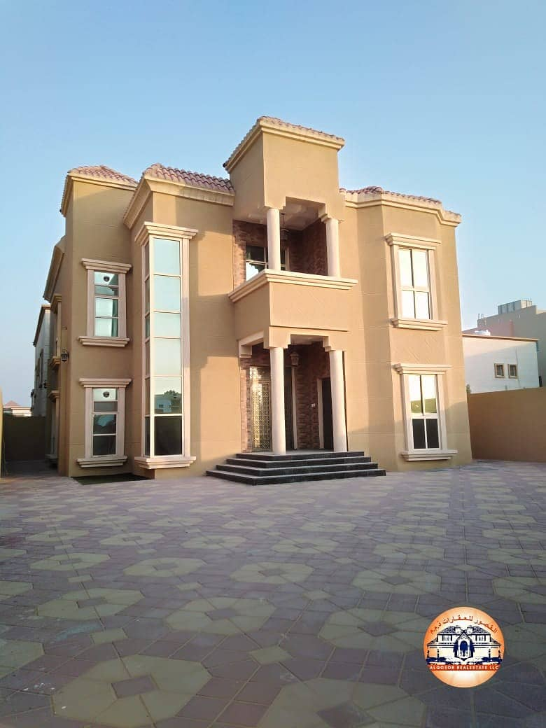 Villa for sale in Ajman with easy bank financing for all nationalities