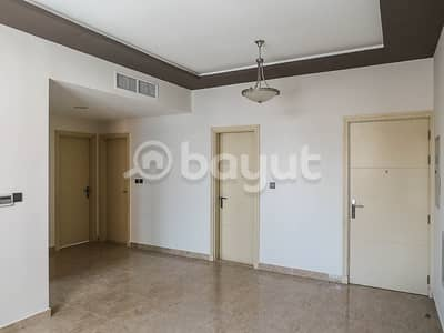 For rent in Ajman, one 2 rooms and a hall with a parken area of ​​1620 feet