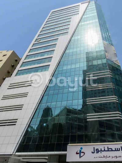 Office for Rent in Al Majaz, Sharjah - Affordable fitted stylish Commercial Office with 2 months grace period