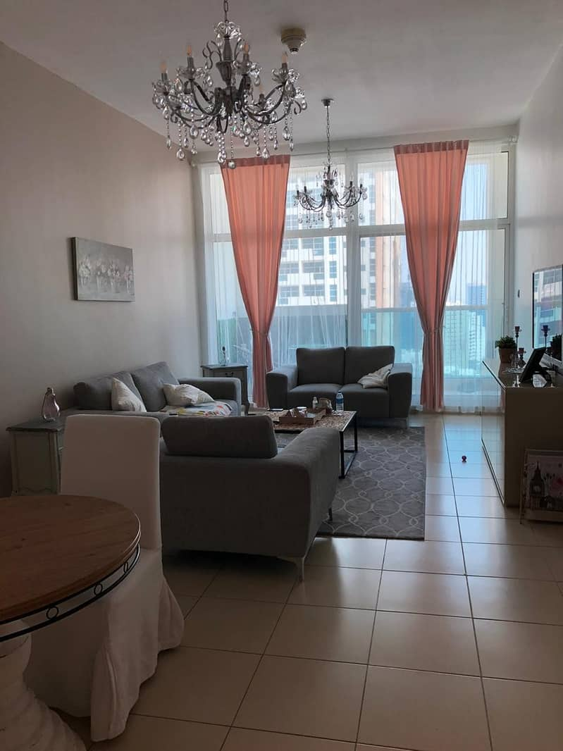 Amazing 2 bhk closed kitchen with parking garden view for sale in Ajman one tower