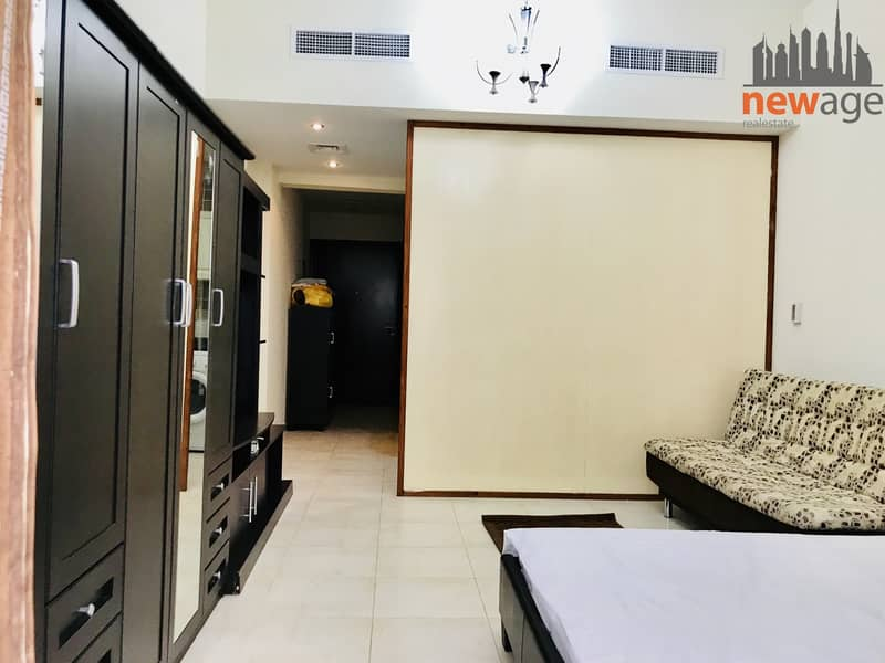 9 DEWA And Chiller Included | Furnished Studio | 2500 per month | Hamza Tower