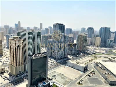 2 Bedroom Apartment for Rent in Al Mamzar, Sharjah - AC+2 Months Free | Lavish 2BHK | Iconic View