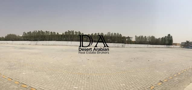 Other Commercial for Rent in Dubai Investment Park (DIP), Dubai - Big Yard with Store |  Rate 12 AED  Sq.ft