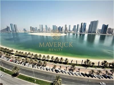 3 Bedroom Flat for Rent in Al Mamzar, Sharjah - Sea View 3BHK | Free Parking | Gym+Pool | Cheapest