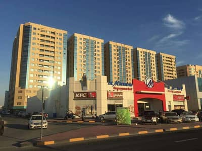 View a snapshot of Garden City Towers Best site ,,,, in front of Ajman University and the House of J