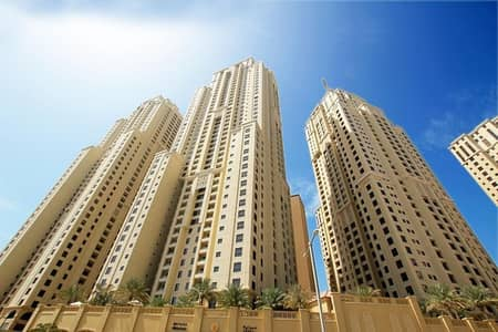 1 Bedroom Apartment for Rent in Jumeirah Beach Residence (JBR), Dubai - One Month Free Rent | Sea View 1-Bedroom+ Storage  | Double Balcony