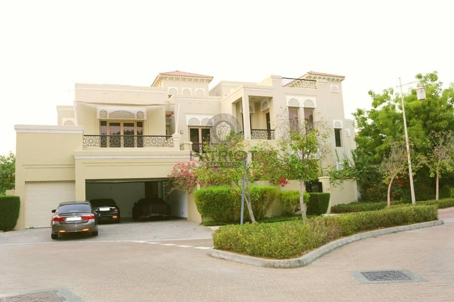Luxury 6 bedroom villa for sale in al barari Type B | Furnished | Pristine Condition Save