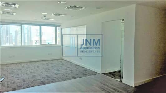 Office for Sale in Jumeirah Lake Towers (JLT), Dubai - Fitted Office | Great Price | Close to Metro