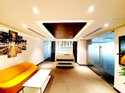 Exclusive! Near Metro Furnished Office |High Floor
