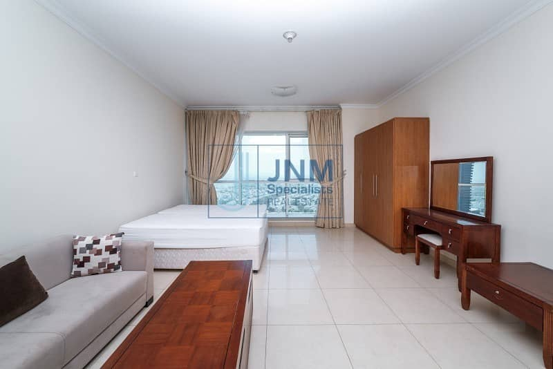 Park View | Spacious Studio Unit | Fully Furnished | Next to the Metro