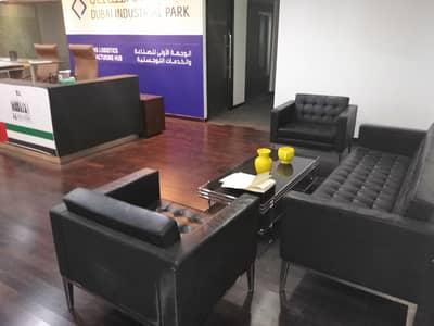 مکتب  للايجار في مجمع دبي الصناعي، دبي - Reception