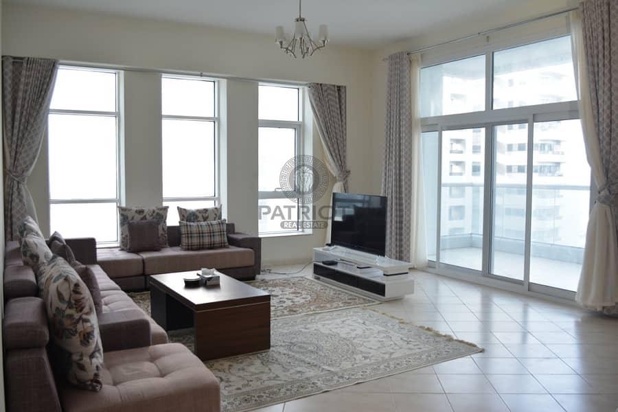 2 Upgraded 3Bedroom+Maids Room Apartment With Excellent Views