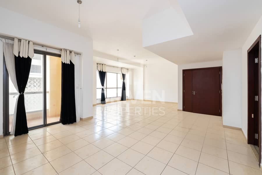 Spacious 3 Bedroom Unit with Marina View