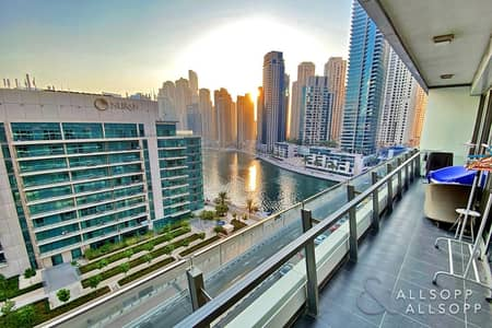 2 Bedroom Flat for Sale in Dubai Marina, Dubai - Full Marina Views | Vacant | Two Bedrooms