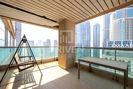 3 Bedroom Flat for Rent in Dubai Marina, Dubai - Beautiful apt in most luxury building