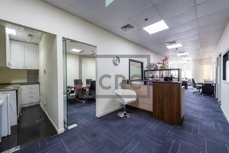 مکتب  للبيع في برشا هايتس (تيكوم)، دبي - Vacant| Furnished | Non-mortgaged | Close to metro