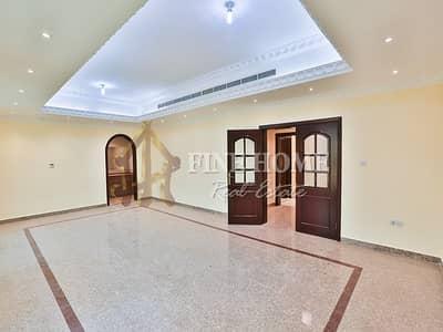 فلیٹ 4 غرف نوم للايجار في المشرف، أبوظبي - Villa Apartment | 4BR w/ Maids Room+Parking