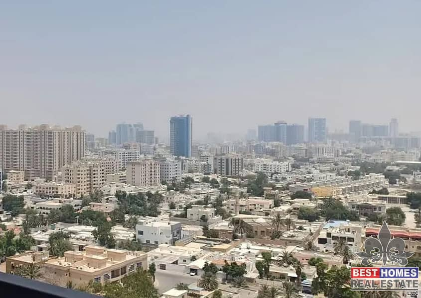 1 bedroom | 4 payment | in Corniche tower Ajman